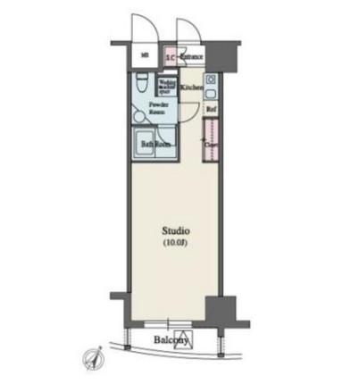 MFPR代々木タワー804号室