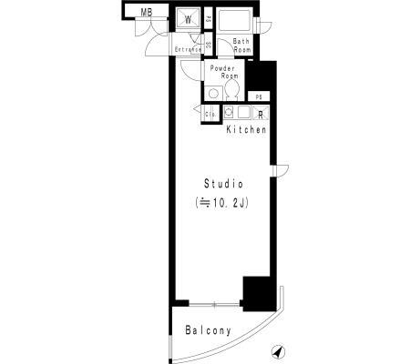 MFPR代々木タワー807号室