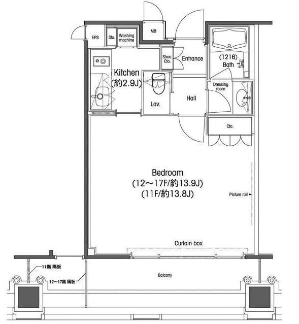 品川グラスレジデンス1603号室