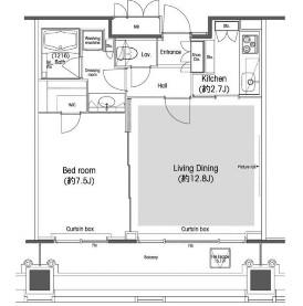 品川グラスレジデンス1702号室