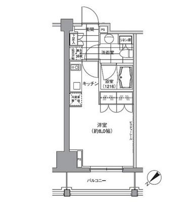 パークハビオ渋谷1004号室