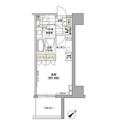 パークハビオ渋谷1011号室