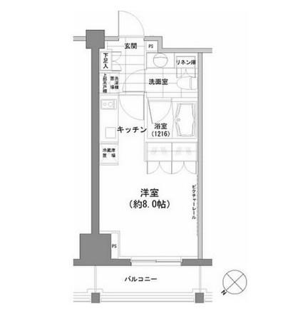 パークハビオ渋谷1204号室