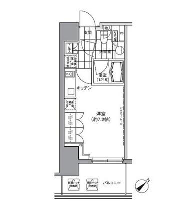 パークハビオ渋谷410号室