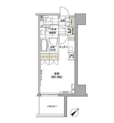 パークハビオ渋谷411号室