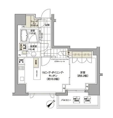 パークハビオ渋谷512号室
