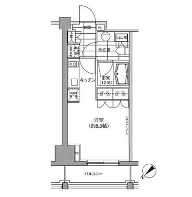 パークハビオ渋谷604号室