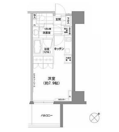 パークハビオ渋谷611号室