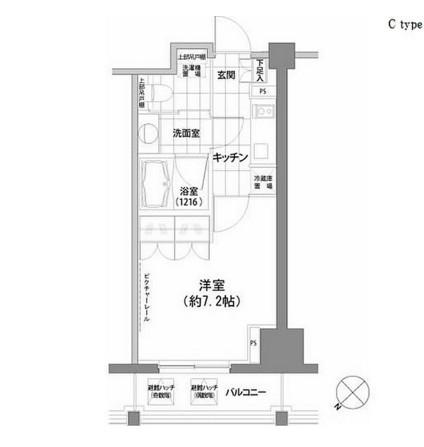 パークハビオ渋谷803号室