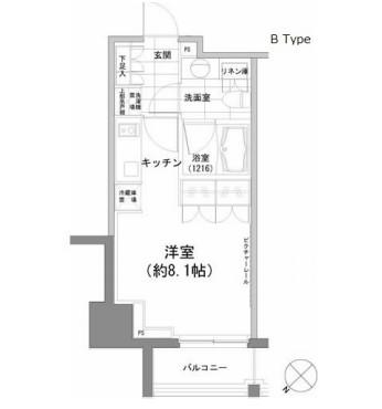 パークハビオ渋谷902号室