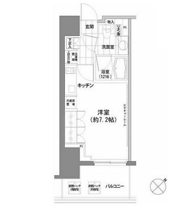 パークハビオ渋谷910号室