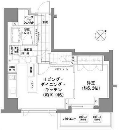 パークハビオ渋谷912号室