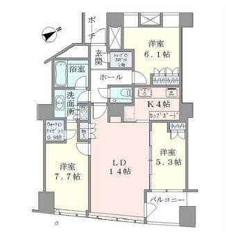 品川Vタワー2509号室