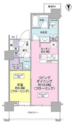 ベイクレストタワー3814号室