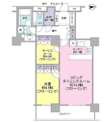 コスモポリス品川2005号室