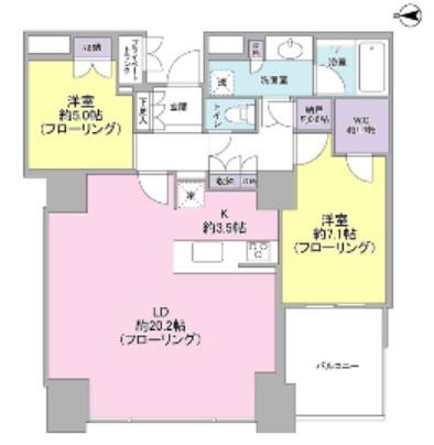 ワールドシティタワーズ キャピタルタワー3806号室