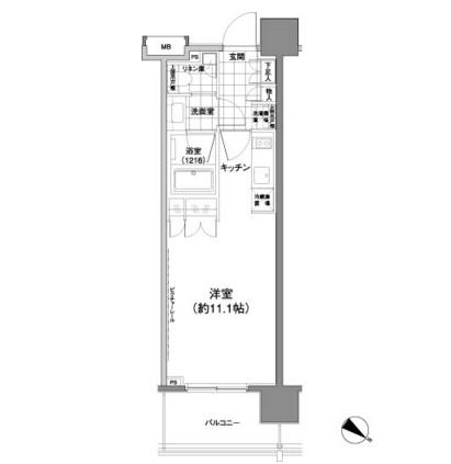 パークハビオ渋谷神山町1005号室