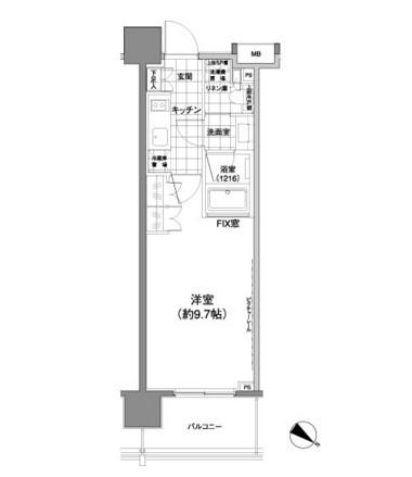 パークハビオ渋谷神山町402号室
