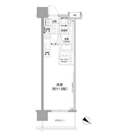 パークハビオ渋谷神山町504号室