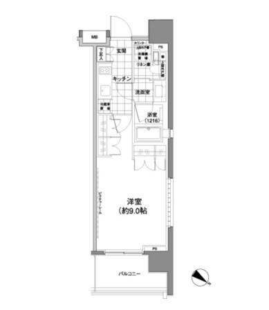 パークハビオ渋谷神山町601号室