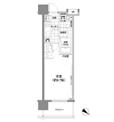 パークハビオ渋谷神山町802号室