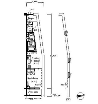 ルフォンプログレ南麻布217号室