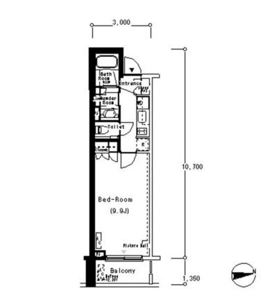 ルフォンプログレ南麻布309号室