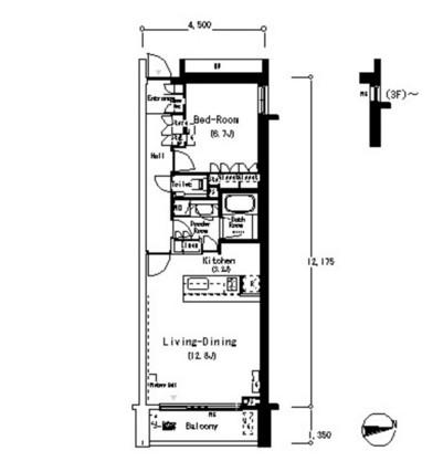 ルフォンプログレ南麻布412号室