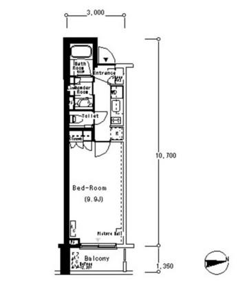 ルフォンプログレ南麻布509号室