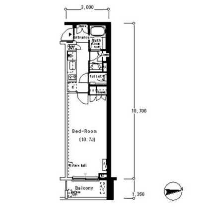 ルフォンプログレ南麻布510号室