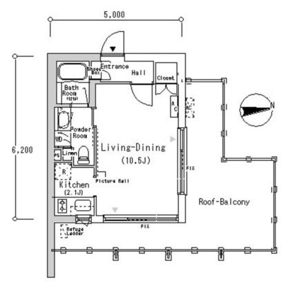 ルフォンプログレ南麻布613号室