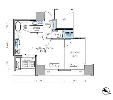 富ヶ谷スプリングス605号室