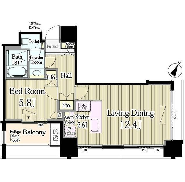 富ヶ谷スプリングス606号室