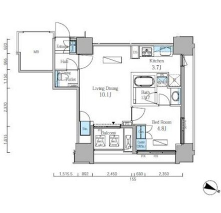 富ヶ谷スプリングス704号室