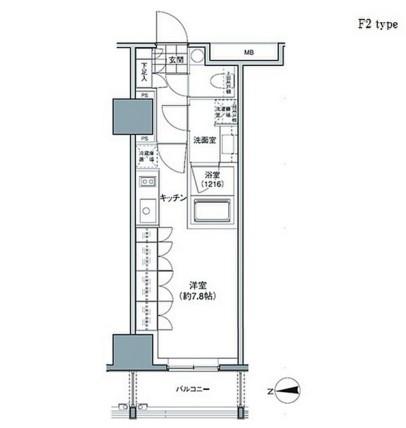 パークハビオ東中野206号室