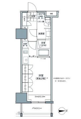 パークハビオ東中野602号室