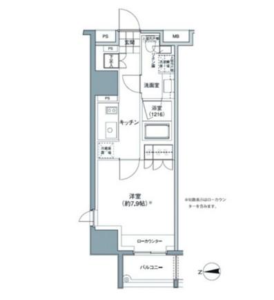 パークハビオ東中野608号室