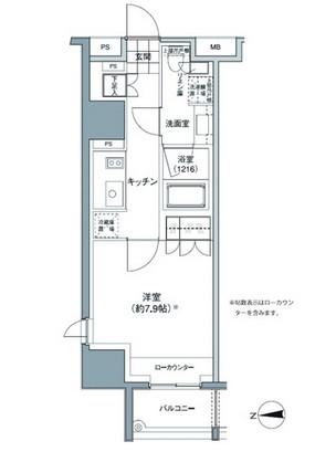 パークハビオ東中野708号室