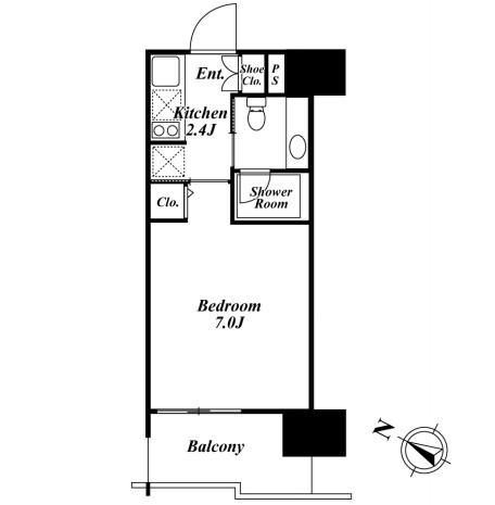 ベルファース目黒1006号室