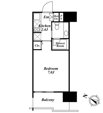 ベルファース目黒306号室