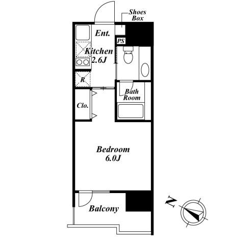ベルファース目黒910号室