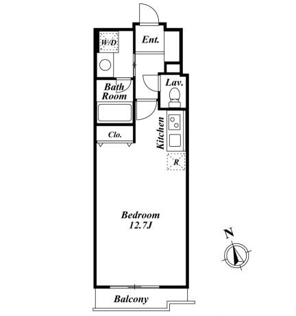 ミルーム南青山 205号室