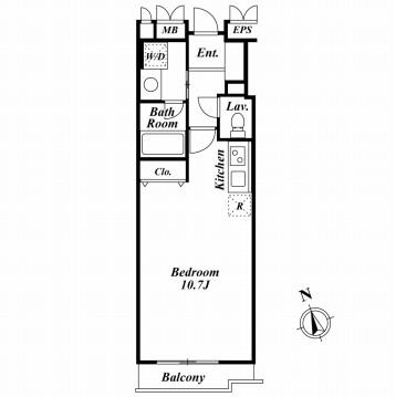 ミルーム南青山305号室