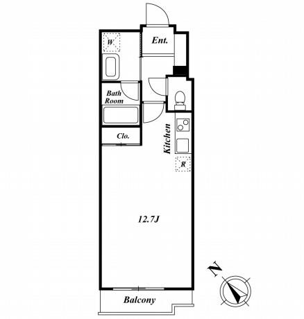 ミルーム南青山404号室