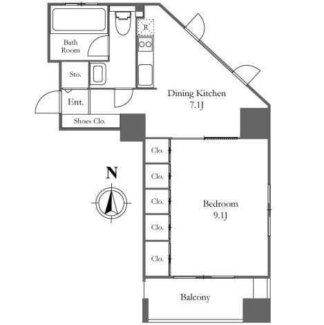 KDXレジデンス西麻布 301号室