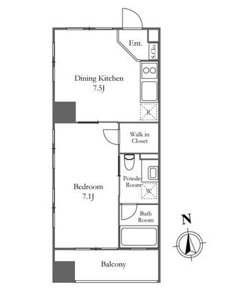 KDXレジデンス西麻布 404号室