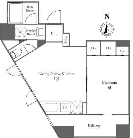 KDXレジデンス西麻布 502号室