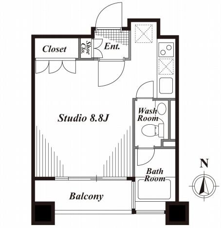 キャビンアリーナ南青山 502号室