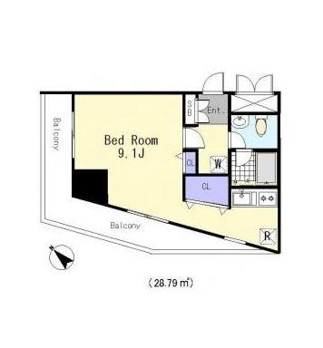 グランディール初台205号室