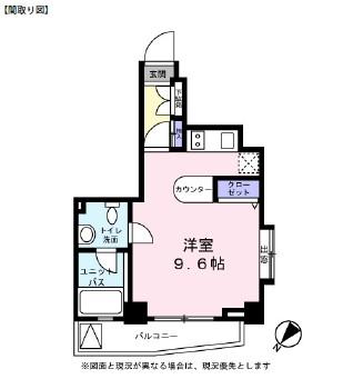 レジディア恵比寿Ⅲ501号室